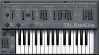 Freeware vst synths: TAL-Bassline for Mac and Windows resembling a Roland SH-101 available for download