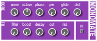 Free VST synthesizers download: Monomate for Basslines and Leads