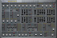 One of the best free virtual analog synthesizers: Superwave P8 download