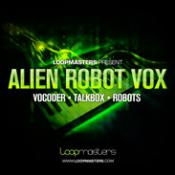 Alien Robot Vox Audio Loops for  Logic
