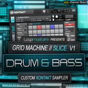 Grid Machine Slice – DnB Professional Sample Files and Reviews