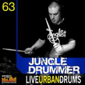 Professional Audio Files – Jungle Drummer – Live Urban Drums