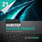 cover art Loopmasters Present Dubstep Synths Massive Presets