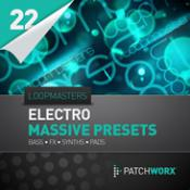 cover art Loopmasters Presents Electro Synths Massive Presets