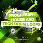 Progressive House and Tech Drum Loops Studio Samples