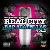 Real City Rap Acapellas Vol. 3 Audio Files